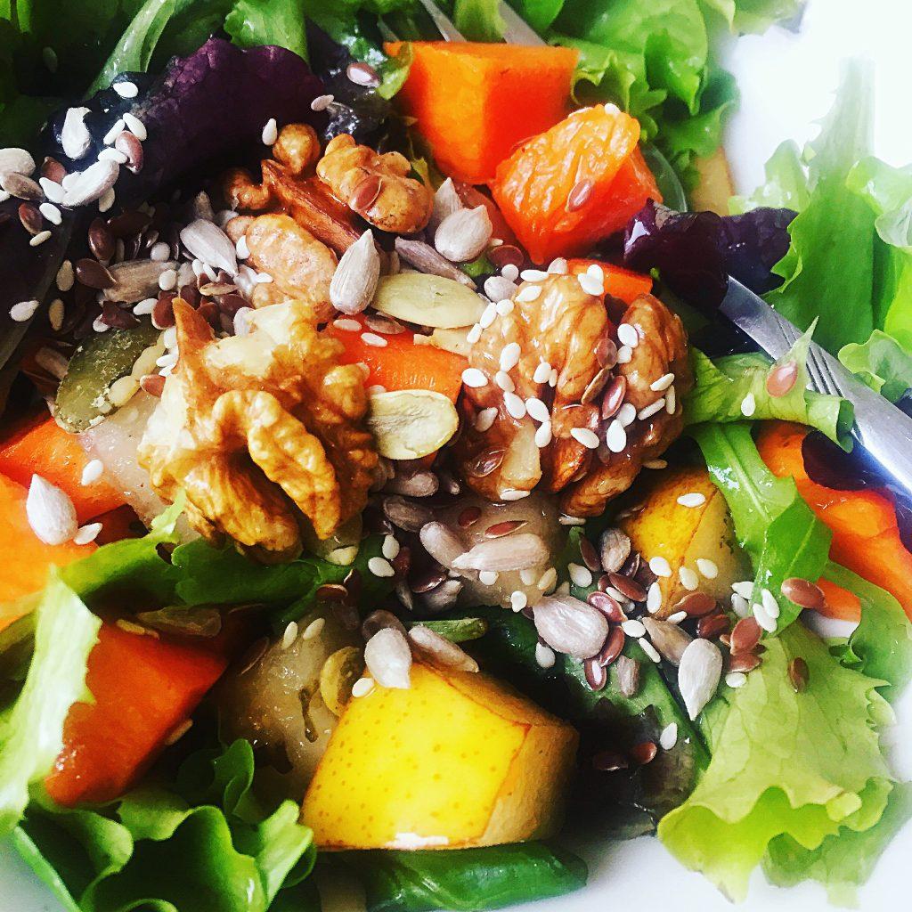 salata de dovleac crud