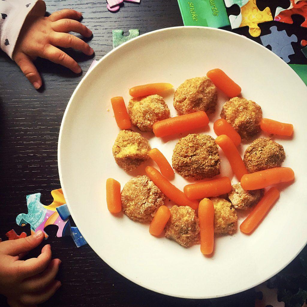 Biluțe de couscous cu dovlecel