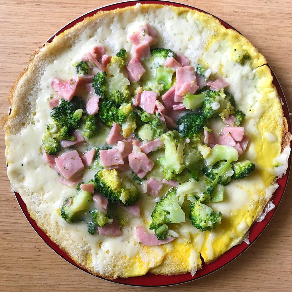Omleta pizza